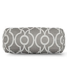 "Athens Decorative Round Bolster Pillow 18.5"" x 8"""