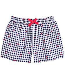 Baby Girls Gingham Cherry Shorts, Created for Macy's