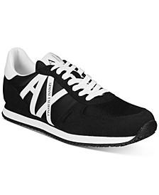 Men's AX Logo Sneakers