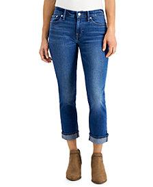 Lucky Brand Sweet Crop Cuffed Jeans