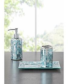 Robin Mosaic 3pc Bath Accessory Set