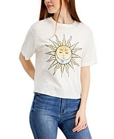 Juniors' Sun Graphic T-Shirt