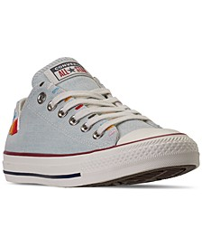 Women's Chuck Taylor All Star Self-Expression Friendship Bracelet Low Top Casual Sneakers from Finish Line