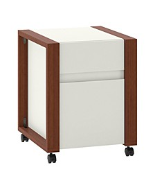 Voss 2 Drawer Mobile File Cabinet