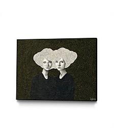 "Sofia Bonati Orla and Olinda Art Block Framed Canvas 44"" x 33"""