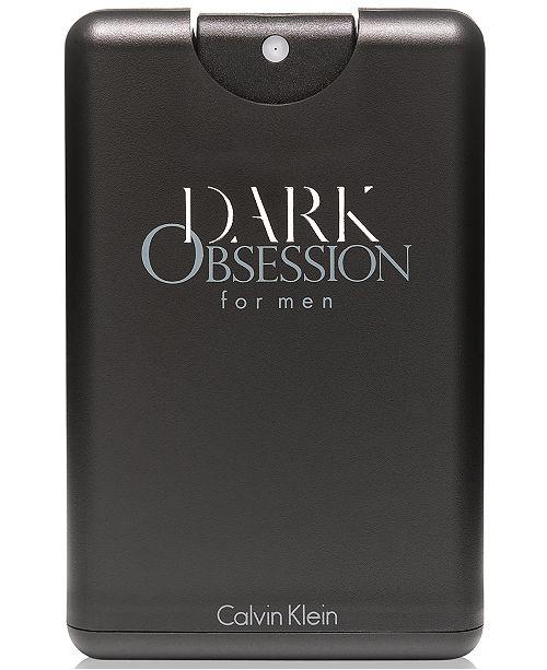 Calvin Klein DARK OBSESSION for men Pocket Spray, .67 oz