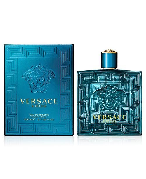 e183c4b008 Versace Men s Eros Eau de Toilette Spray