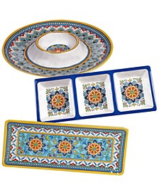 Portofino Melamine 3-Pc. Hostess Set