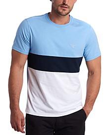 Men's Castle Pieced Colorblocked T-Shirt