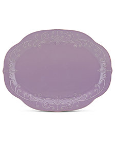 Lenox Dinnerware, French Perle Oval Platter