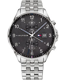 Men's Chronograph Stainless Steel Bracelet Watch 44mm, Created for Macy's