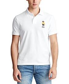 Men's Custom Slim-Fit Bear Polo