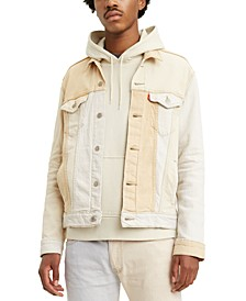 Men's Cliffhanger Two-Tone Trucker Jacket
