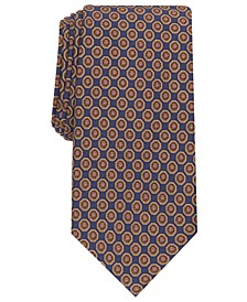 Men's Tronto Medallion Silk Necktie, Created for Macy's