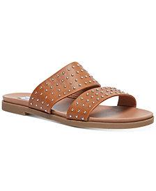 Steve Madden Women's Dede Studded Slide Sandals