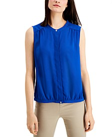 Band Collar Blouse, Created for Macy's