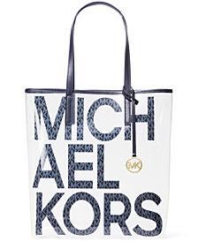 Michael Michael Kors The Michael Bag Signature Logo Tote