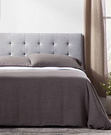 Square Tufted Mid Rise Headboard, Queen