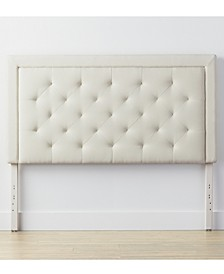 Upholstered Headboard with Diamond Tufting, Queen