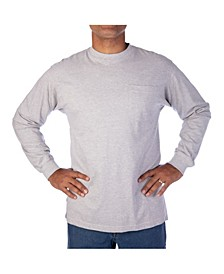 Men's Long Tail Long Sleeve Pocket Tee