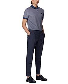 BOSS Men's Parlay 70 Cotton-Piqué Polo Shirt