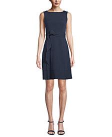 Anne Klein Seersucker A-Line Dress