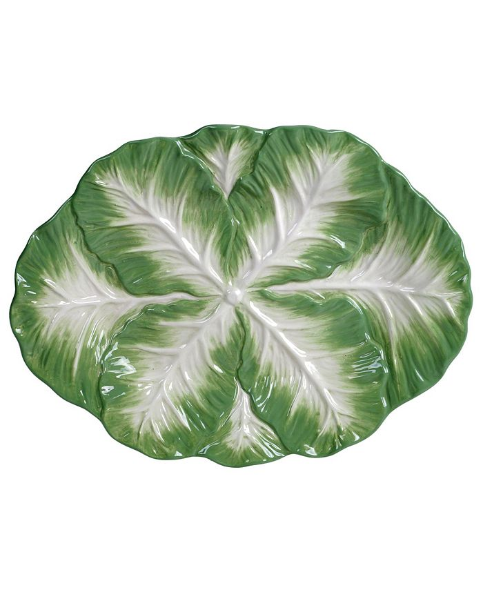 Tracy Porter - English Garden 3-D Oval Platter