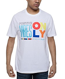 Men's Positive Vibes Graphic T-Shirt