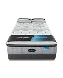 "Harmony Lux Carbon 15.75"" Plush Pillow Top Mattress Set - California King"