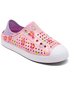Little Girls Cali Gear Guzman Steps Hello Daisy Water Sneakers from Finish Line