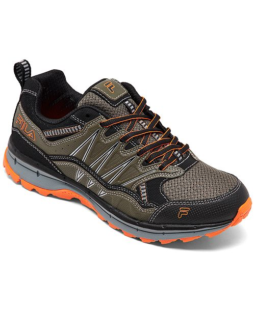 Fila Men's Evergrand TR Trail Running Sneakers from Finish Line