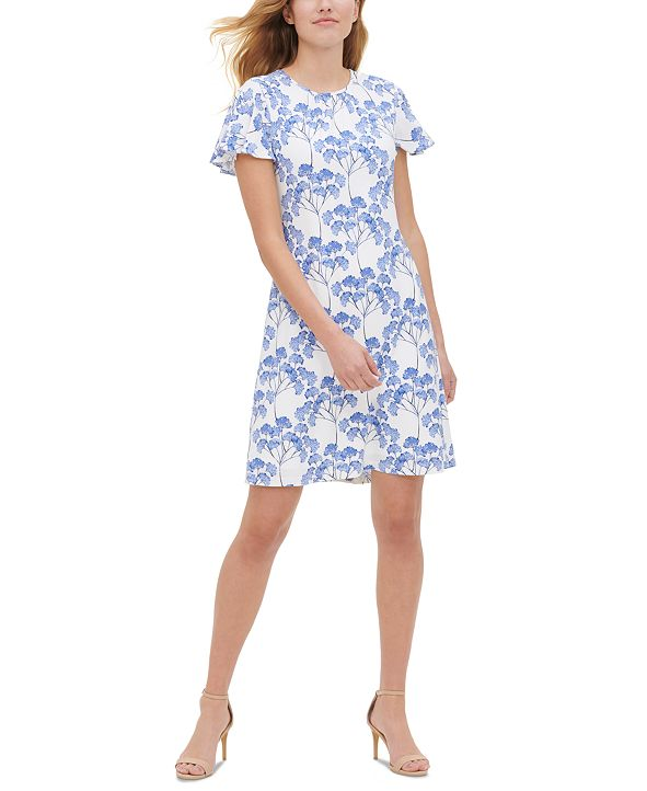 Tommy Hilfiger Nantucket Blossom Printed Dress