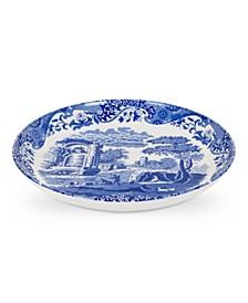 Blue Italian Pasta Bowl