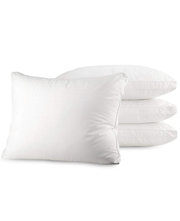 Mastertex Bed Pillow, Queen - 4 Pieces