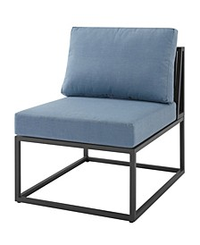 Outdoor Modern Modular Patio Side Chair