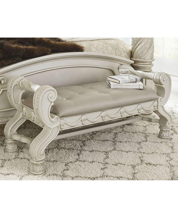 Signature Design By Ashley Cassimore Large Upholstered ...