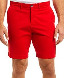Men's Regular Fit Stretch Gabardine Shorts