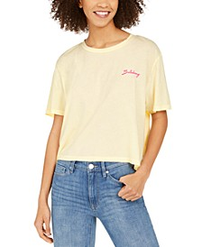 Juniors' Day Break Cotton Graphic T-Shirt