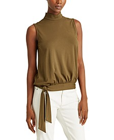 Petite Sleeveless Jersey Top