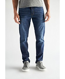 Men's Slim Fit Performance Stretch Denim Jeans, Warren Wash