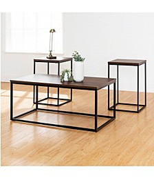 3-Piece Open Box Accent Table Set