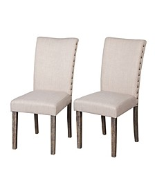 Burntwood Parson Chair Set of 2