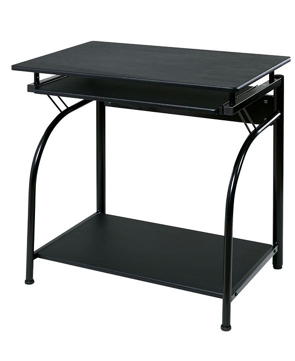 OneSpace Comfort Products Stanton Computer Desk with Pullout Keyboard Tray