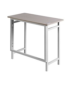 Basics No Assembly Compact Desk, Dual USB