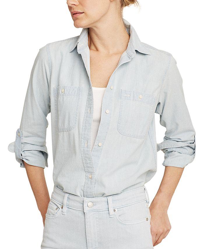 Lauren Ralph Lauren - Cotton Chambray Shirt