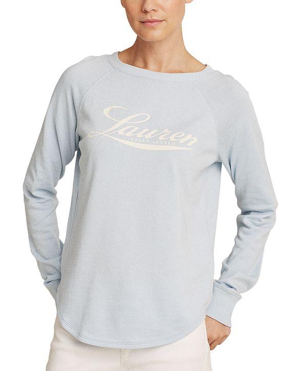 Lauren Ralph Lauren Logo Crewneck Sweatshirt