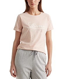 Lauren Ralph Lauren Logo Cotton T-Shirt
