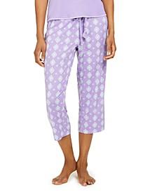 Printed Capri Pajama Pant