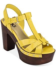 Jinnie Rio Maple Platform Sandals