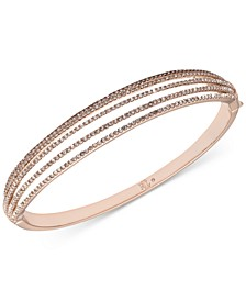 Pavé Multi-Row Bangle Bracelet